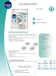 Image sur Boîte de 4 patins antivibrations - SKA202