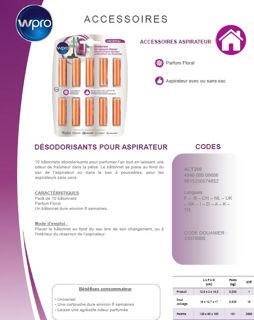 Image sur Désodorisant pour aspirateur - Parfum Floral - ACT200