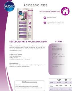 Image sur Désodorisant pour aspirateur - Parfum lavande - ACT051