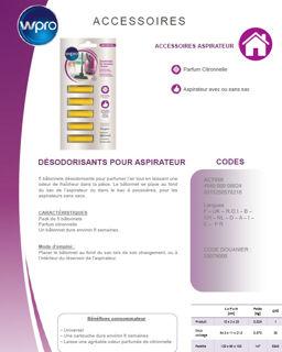 Image sur Désodorisant pour aspirateur. Parfum Citronnelle - ACT050