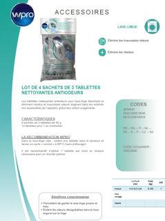 Image sur Lot de 4 sachets tablettes antiodeurs - AFR431