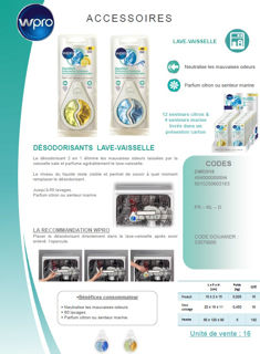 Image sur Désodorisant lave-vaisselle  - DWD018