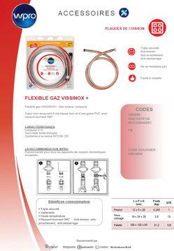 Image de VISSINOX+ Butane/Propane longueur 2m - TBV200