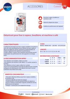 Image sur Détartrant en sachet bouilloires, machines à café  WKD005