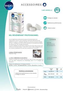 Image sur Sel régénérant professionnel en tablettes-1,8kg - SAT100